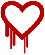 Heartbleed bug log