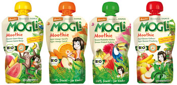 Organic Smoothies for kids
