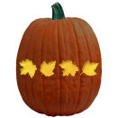 autumnleavespumpkincarvingpattern