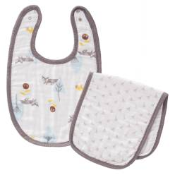 fresk-bib-burpset-fox-blue-no-box