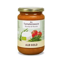 Alb Gold Organic Tomato, Ricotta & Rocket Sauce